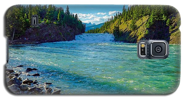 Bow River In Banff Galaxy S5 Case