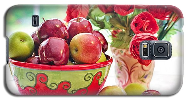 Bowl Of Red Apples Galaxy S5 Case