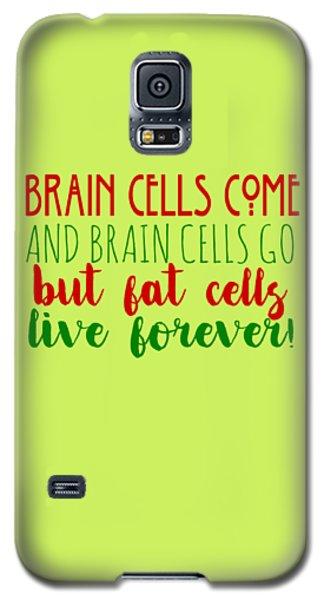 Brain Cells Galaxy S5 Case