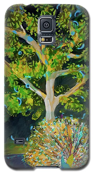 Branching Out Peacock Galaxy S5 Case