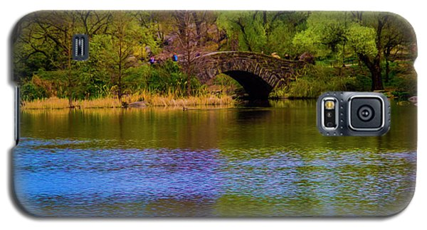 Bridge In Central Park Galaxy S5 Case
