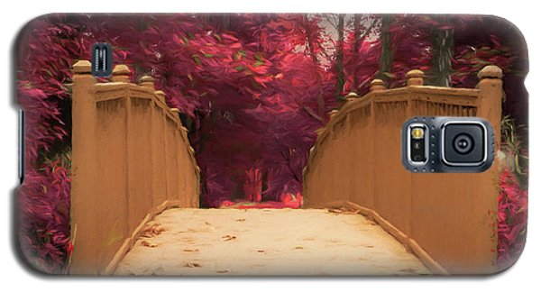 Bridge In The Woods Galaxy S5 Case