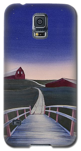 Bridge Over Buck Creek II Galaxy S5 Case