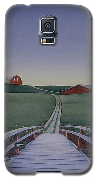 Bridge Over Buck Creek Galaxy S5 Case