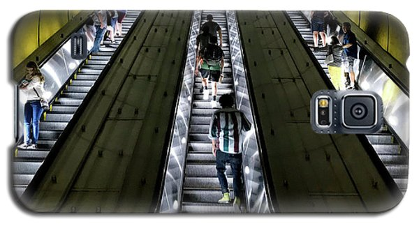 Bright Lights, Tall Escalators Galaxy S5 Case