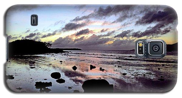 Bright Mirror Of Sunset Light Galaxy S5 Case