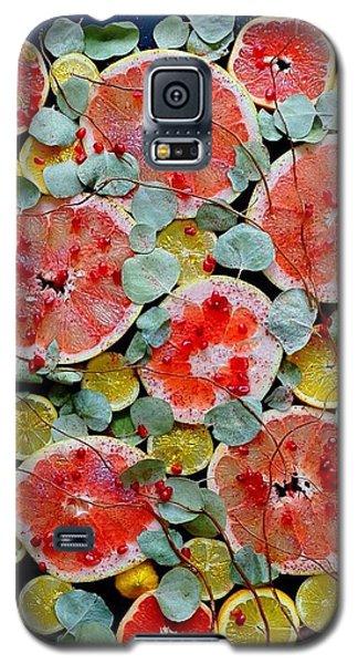 Brighter Days Citrus Galaxy S5 Case