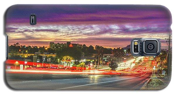 Broadway Sunset, Tucson, Az Galaxy S5 Case