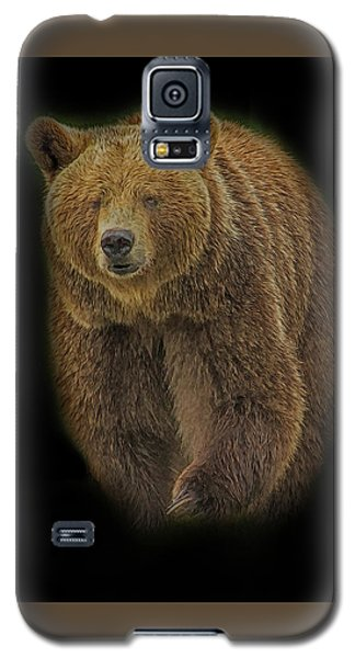 Brown Bear In Darkness Galaxy S5 Case