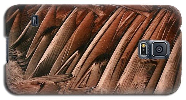 Brown Ladders/steps Galaxy S5 Case