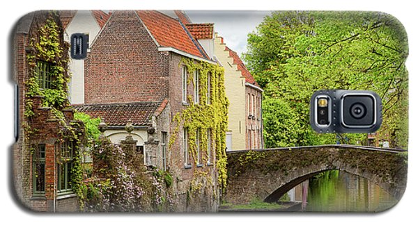 Bruges Footbridge Over Canal Galaxy S5 Case