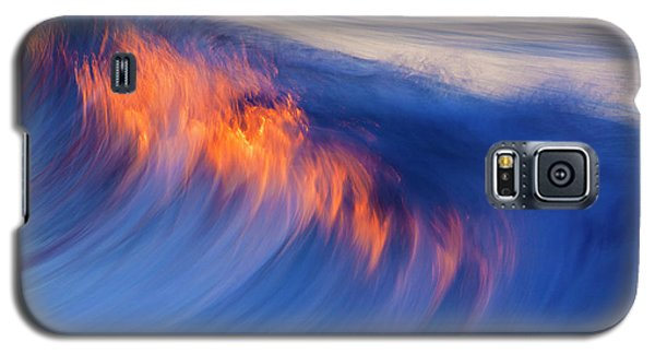 Burning Wave Galaxy S5 Case