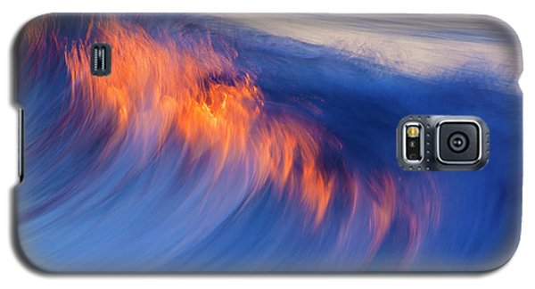Burning Wave Galaxy S5 Case