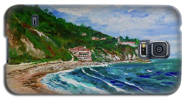 Burnout Beach, Redondo Beach California Galaxy S5 Case