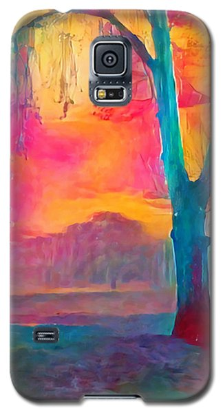Bush Sunset  Galaxy S5 Case