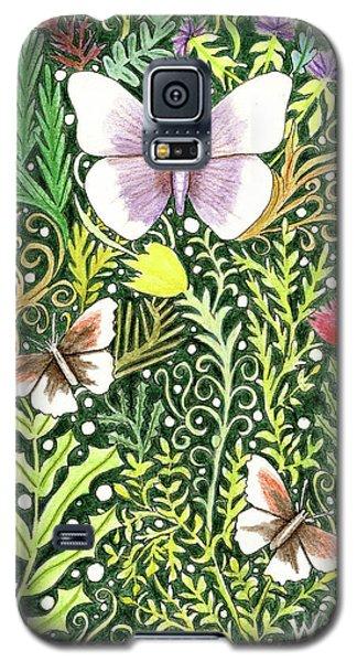 Butterflies In The Millefleurs Galaxy S5 Case