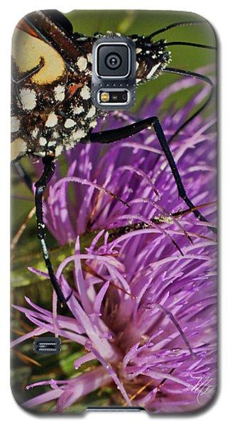 Butterfly Closeup Vertical Galaxy S5 Case