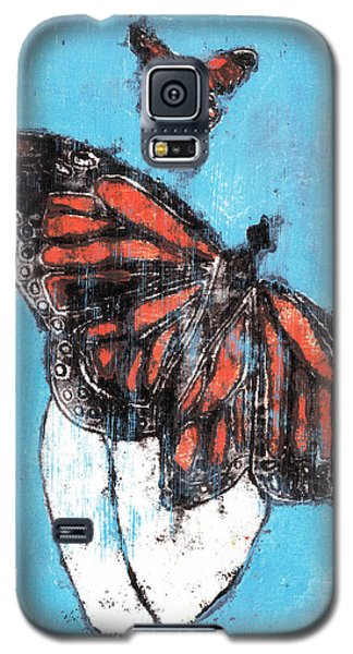 Butterfly Garden Summer 1 Galaxy S5 Case