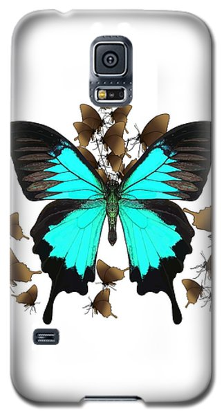 Ulysses Butterfly All A Flutter Galaxy S5 Case