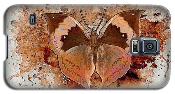 Butterfly Splash Galaxy S5 Case