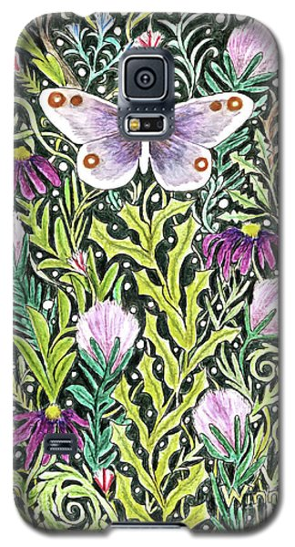 Butterfly Tapestry Design Galaxy S5 Case