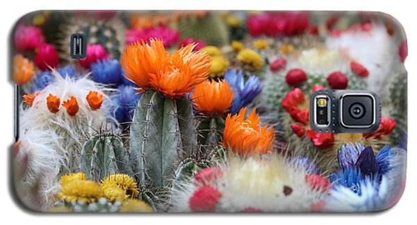 Cacti Flowers Galaxy S5 Case