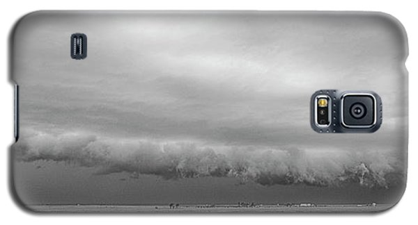 Cactus Roll Cloud Bw Galaxy S5 Case