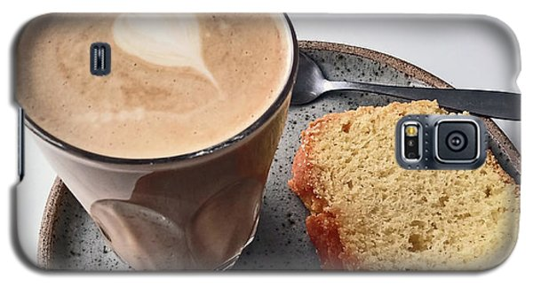 Cafe. Latte And Cake.  Galaxy S5 Case