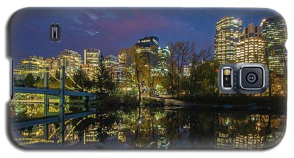 Calgary Skyline At Night Galaxy S5 Case