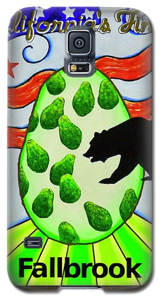 Galaxy S5 Case featuring the painting California's Finest by Mary Scott