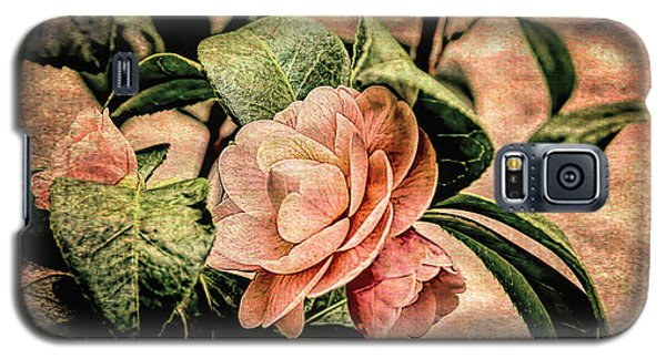 Camellia Grunge Galaxy S5 Case