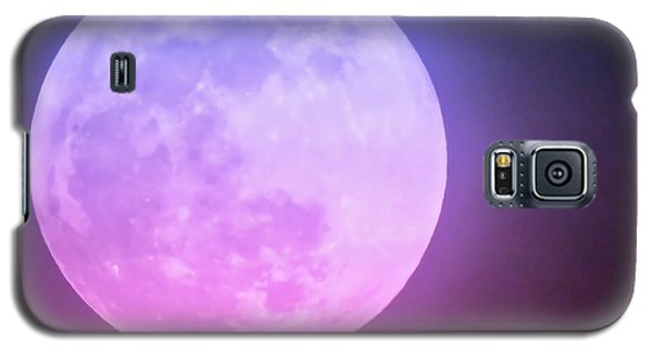 Cancer Super Wolf Blood Moon Near Eclipse Galaxy S5 Case
