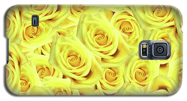 Galaxy S5 Case featuring the photograph Candlelight Roses by Rockin Docks