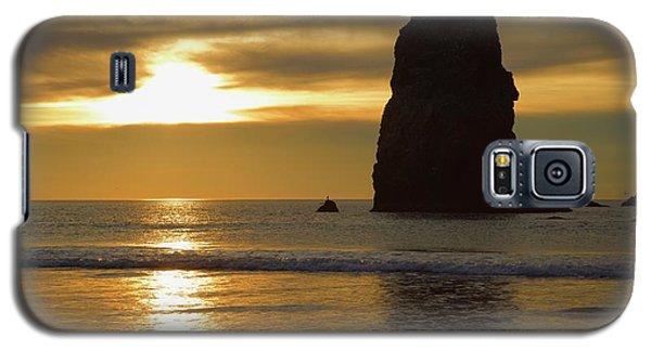 Cannon Beach November Evening Galaxy S5 Case