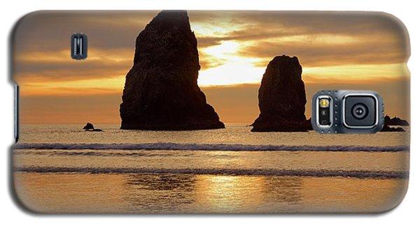 Cannon Beach November Sunset Galaxy S5 Case