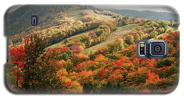 Cannon Mountain Fall Foliage Galaxy S5 Case