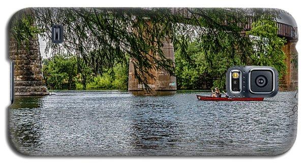 Canoeing Lady Bird Lake Galaxy S5 Case
