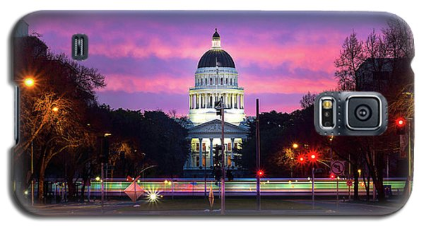 Capital Sunrise Galaxy S5 Case