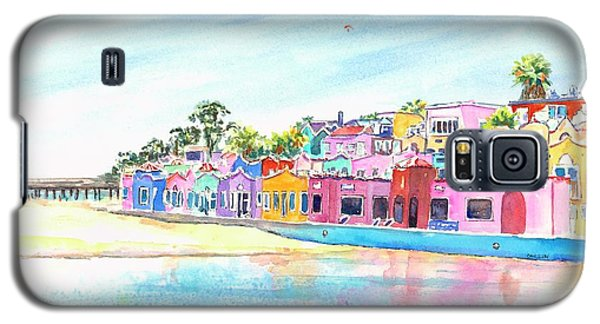 Capitola California Colorful Houses Galaxy S5 Case