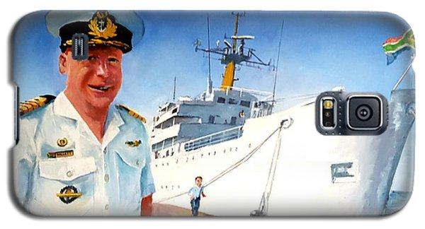 Capt Glen Hallett Galaxy S5 Case