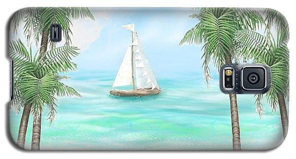 Carribean Bay Galaxy S5 Case