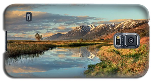 Carson Valley Sunrise Galaxy S5 Case