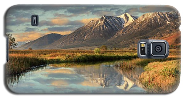 Carson Valley Sunrise Panorama Galaxy S5 Case