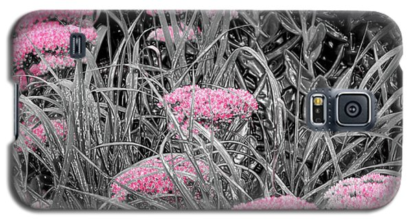 Carved Pink Butterfly Bush Galaxy S5 Case