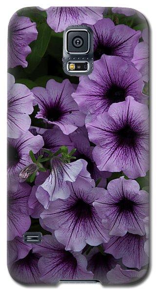 Cascade In Violet Galaxy S5 Case