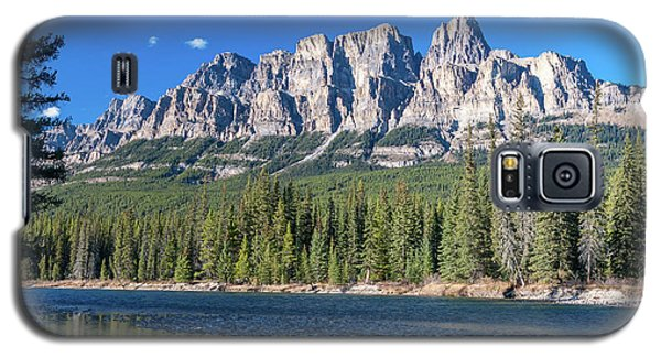 Castle Cliffs From The Bow River Galaxy S5 Case
