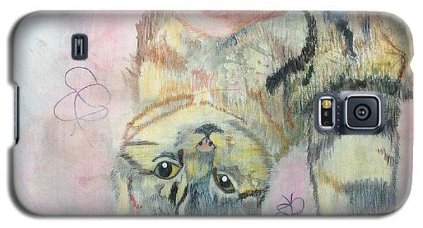 Playful Cat Named Simba Galaxy S5 Case