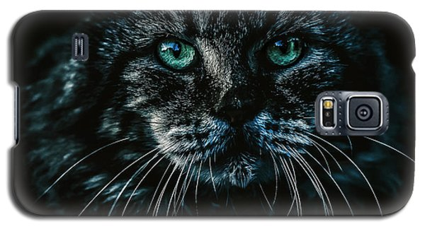 Cat Galaxy S5 Case