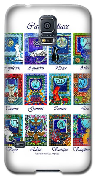 Cat Zodiac Astrological Signs Galaxy S5 Case