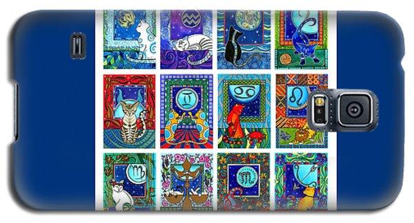Cat Zodiac Paintings  Galaxy S5 Case